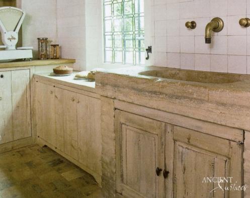 Kichen Marble Trough Sink-10