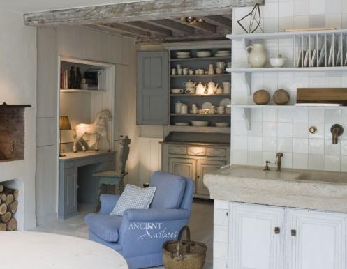 Kichen Marble Trough Sink-19