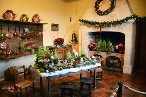 antique-french-farmhouse-limestone-fireplace-during-christmas-001-copy