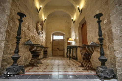 limestone wall cladding and antique flooring provence house knight house