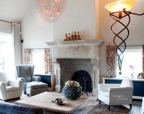 Limestone-fireplace-stone-chimney-antique