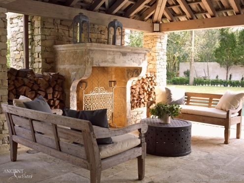 outdoor-fireplace-limestone-flooring-biblical-stone
