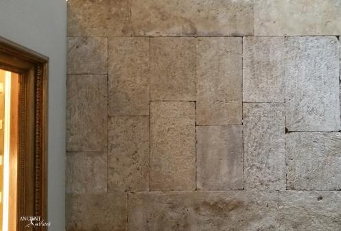 Tough limestone wall cladding