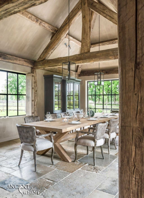 Biblical Stone Farmhouse French style
