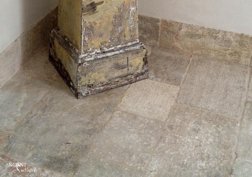 Limestone biblical floor